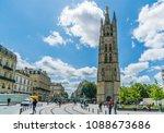 bordeaux  france  9 may 2018  ... | Shutterstock . vector #1088673686