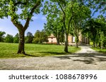 tuscany near florence. parco... | Shutterstock . vector #1088678996