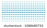 right arrow icon halftone...   Shutterstock .eps vector #1088680733