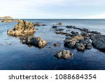 rock pools of breaker bay ... | Shutterstock . vector #1088684354