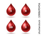 world blood donor day poster.... | Shutterstock .eps vector #1088690456