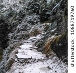 Small photo of danger path somewhere in triund.