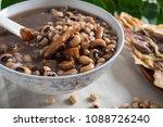 rice bean cuttlefish porridge   ... | Shutterstock . vector #1088726240