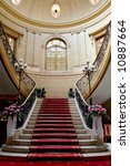 Stairwell In  Polish Palace. An ...