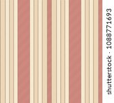 classic beige red striped... | Shutterstock .eps vector #1088771693
