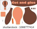 air balloon in cartoon style ...   Shutterstock .eps vector #1088777414
