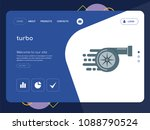 quality one page turbo website...   Shutterstock .eps vector #1088790524