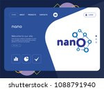 quality one page nano website... | Shutterstock .eps vector #1088791940