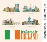 ireland vector illustration... | Shutterstock .eps vector #1088795279