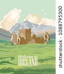 ireland vector illustration... | Shutterstock .eps vector #1088795300