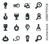 black vector icon set milk... | Shutterstock .eps vector #1088795918