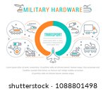 line illustration of military... | Shutterstock .eps vector #1088801498