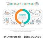 line illustration of military... | Shutterstock .eps vector #1088801498
