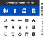 modern  simple vector icon set... | Shutterstock .eps vector #1088801888