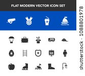 modern  simple vector icon set... | Shutterstock .eps vector #1088801978