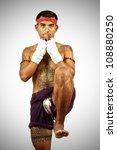 muay thai boran fighter | Shutterstock . vector #108880250