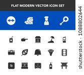 modern  simple vector icon set... | Shutterstock .eps vector #1088802644