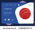 quality one page cricket ball...