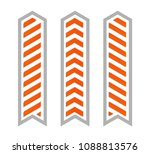 arrow banners set. direct... | Shutterstock . vector #1088813576