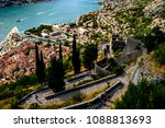 picturesque descent from the... | Shutterstock . vector #1088813693