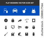 modern  simple vector icon set... | Shutterstock .eps vector #1088817566