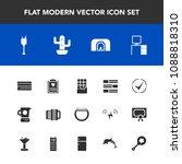 modern  simple vector icon set... | Shutterstock .eps vector #1088818310