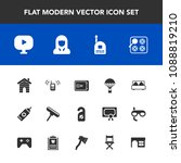 modern  simple vector icon set... | Shutterstock .eps vector #1088819210