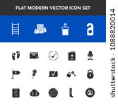 modern  simple vector icon set... | Shutterstock .eps vector #1088820014