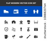 modern  simple vector icon set... | Shutterstock .eps vector #1088820764