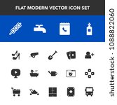 modern  simple vector icon set... | Shutterstock .eps vector #1088822060