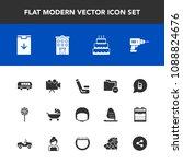 modern  simple vector icon set... | Shutterstock .eps vector #1088824676