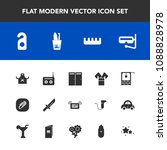 modern  simple vector icon set... | Shutterstock .eps vector #1088828978