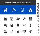 modern  simple vector icon set... | Shutterstock .eps vector #1088830244