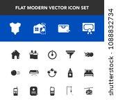 modern  simple vector icon set... | Shutterstock .eps vector #1088832734