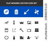 modern  simple vector icon set... | Shutterstock .eps vector #1088835110