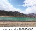 blue beach in blue laguna ...   Shutterstock . vector #1088856680