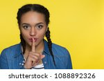 close up studio portrait of a... | Shutterstock . vector #1088892326