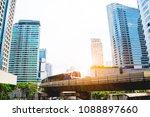 thailand's capital  bangkok ...   Shutterstock . vector #1088897660