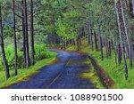 thailand in green season   Shutterstock . vector #1088901500
