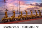 hindu priests perform... | Shutterstock . vector #1088908370