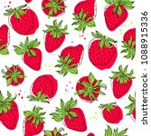 vector seamless pattern with... | Shutterstock .eps vector #1088915336