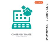 weather forecast company logo... | Shutterstock .eps vector #1088924378