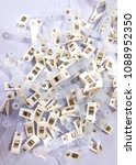Small photo of id card clips