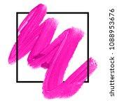 logo brush paint texture design ... | Shutterstock .eps vector #1088953676
