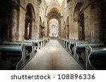 Interior Of Roman Catholic...