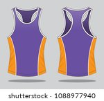 tank tops design | Shutterstock .eps vector #1088977940