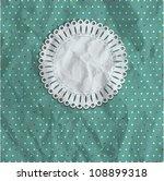 Polka Dot Vintage Background...