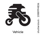 vehicle icon isolated on white... | Shutterstock .eps vector #1088994836