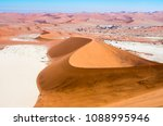 view from largest sand dune at... | Shutterstock . vector #1088995946
