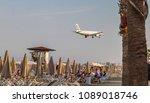 larnaca  cyprus   april 29 ... | Shutterstock . vector #1089018746